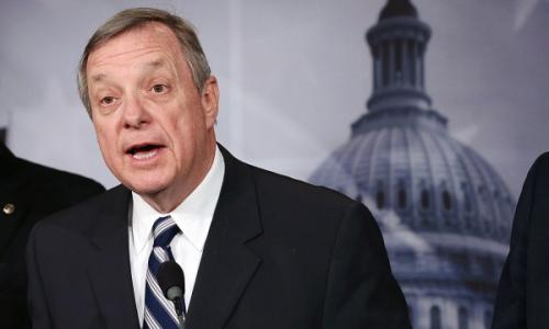 Senator Dick Durbin Argues that Credit and Debit Card Markets Are a Monopoly and Government Intervention is Required