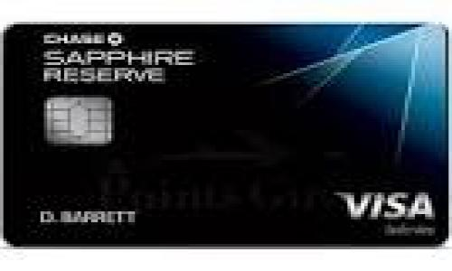 Chase to Unveil New Sapphire Reserve Card