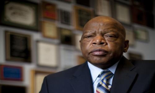 John Lewis Meets Donald Trump