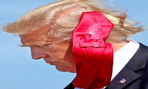 Scotch Tape and Ties - A Trumpian Phenomenon