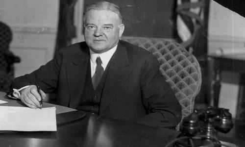Hoover and Trump – Two Peas in a Pod?