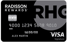 Radisson Rewards Visa Signature Card® by US Bank