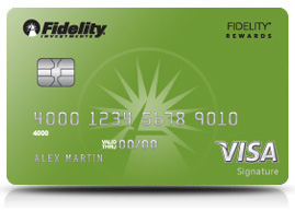 Fidelity® Rewards Visa Signature® Card (Requires Qualifying Fidelity Account)