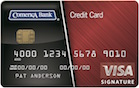 Comerica Visa® Signature Bonus Rewards