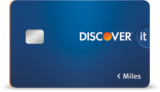 DiscoverIT Miles Card (First Year Only)